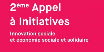 2e appel à initiatives « Innovation sociale et économie sociale et solidaire »