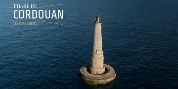 photo du phare de Cordouan pour la candidature à l'Unesco