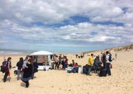 Sorties nettoyage plage avec Surfrider