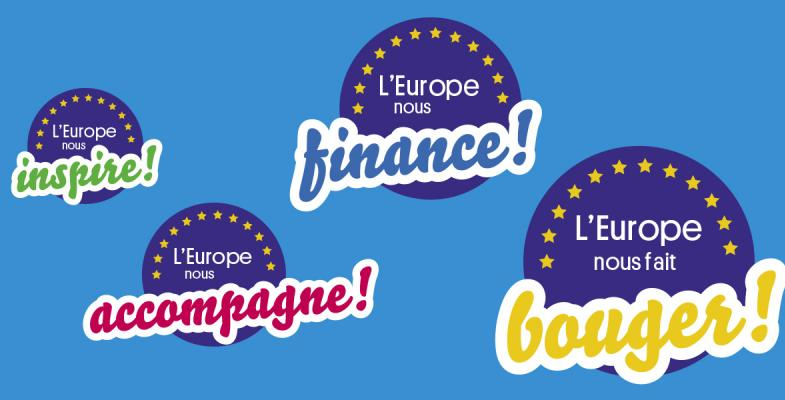 L'Europe nous accompagne !
